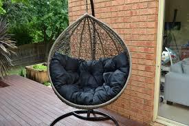 Rattan Swinging Chair Precious Teardrop Swing Chair Furniture Metal And Rattan Swing