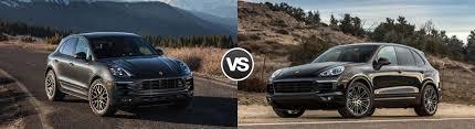 porsche macan and cayenne 2017 porsche macan vs cayenne