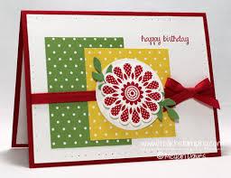diy card making making a birthday card i teach stamping