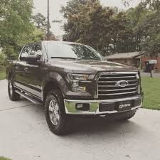 Ford Raptor Leveling Kit - anyone running a 295 70 18 tire with leveling kit ford f150