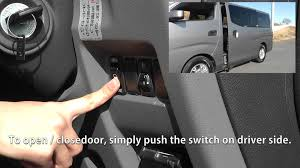 nissan urvan 15 seater auto sliding door opener unit for nissan urvan nv350 caravan and