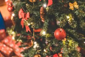 tree with decorations free stock photo picjumbo