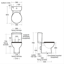 Space Saver Toilets Space Close Coupled Wc Suite Close Coupled Wcs Bluebook