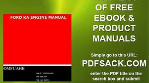 ford ka engine manual video dailymotion