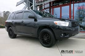 2010 toyota highlander tires toyota highlander with 20in tsw max wheels exclusively from butler