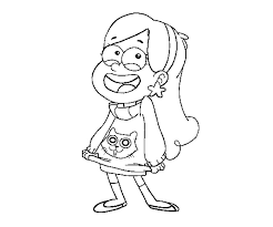 mabel pines coloring pages printable images kids aim
