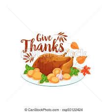 thanksgiving turkey icon for dinner design vector