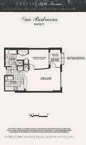 trellis floor plan 1 bed