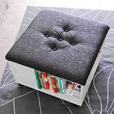 Modern Storage Ottoman Furniture Storage Ottoman Cube Ideas That Will Bring A Statement