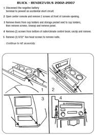 wiring diagram car stereo buick rendezvous u2013 readingrat net