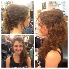 simple bridal hairstyle bridal hairstyle for curly hair women medium haircut