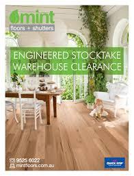 engineered stocktake warehouse clearance mint floor floors