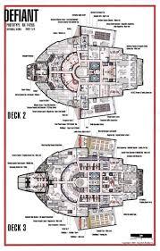 star trek starship deck plans for pinterest