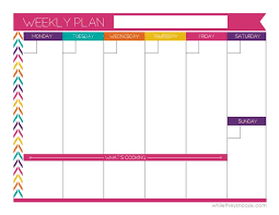 best 25 weekly planner printable ideas on pinterest weekly
