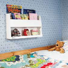 Childrens Wooden Bunk Bed Shelves By Tidy Books - Tidy books bunk bed buddy