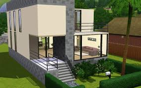 mod the sims a small modern home