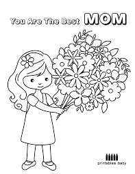 happy mother u0027s day u2013 you are the best mom printables baby