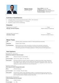 Scrum Master Resume Waleed Anwar Cv Denmark
