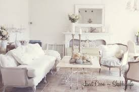 White Shabby Chic Chair by White Shabby Chic Living Room Furniture