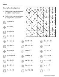 solving equation thanksgiving worksheets festival collections