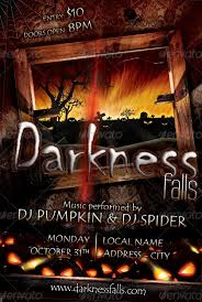 15 More Horror Flyer Templates For Halloween Party
