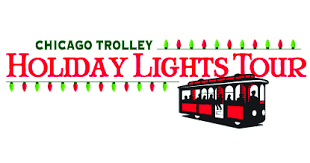 holiday lights trolley chicago chiil mama chicago trolley la la la holiday lights tours terrific