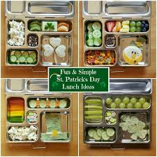 creative food fun and simple st patrick u0027s day lunches