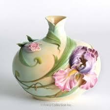 Franz Butterfly Vase Pin By Mulu Hao On Franz Porcelain Art Pinterest Porcelain