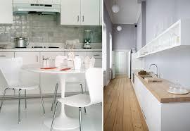 deco cuisine blanc et deco cuisine bois et blanc idées de décoration capreol us