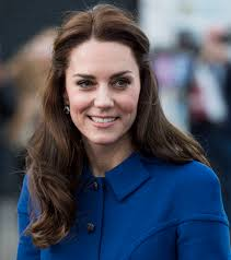 check out this little seen image of kate middleton modeling in an