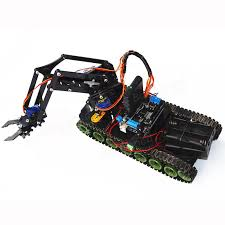 nerf remote control tank remote control robot tank toys rc robot chassis kit with servo