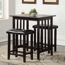 square dining room sets furniture counter height pub table for enjoy your meals and work