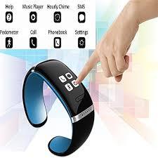 oled bracelet images Ivishow l12s blue bluetooth smart bracelet wristwatch oled jpg