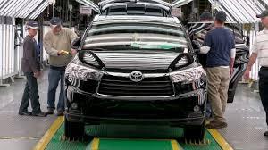 toyota motor car toyota highlander production at toyota motor manufacturing