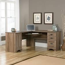 Oak Computer Desk With Hutch by Desk Salt Oak Desk Regarding Fantastic Sauder 415109 Harbor View