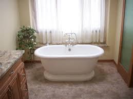 stand alone bathtubs small bathroom using white roman style