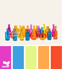 fun color schemes home page bright bottle and colors