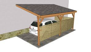 attached carport plans free outdoor plans diy shed wooden