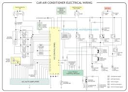 automotive wiring diagram great of car air conditioner electrical