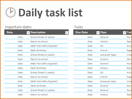 5 excel task list teknoswitch