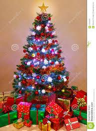 Christmas Tree by Christmas Tree With Presents U2013 Happy Holidays