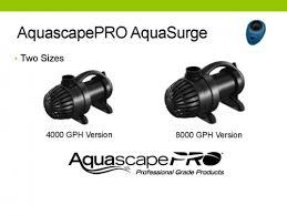 Aquascape Pump Aquascape Aquasurgepro 4000 8000 Gph Adjustable Flow Water Garden