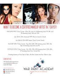 advanced makeup classes 21 best wpa classes courses images on war paint the