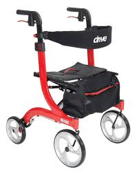 senior walkers with seat nitro style rollator walker drive
