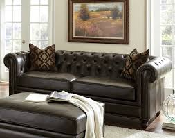 Gordon Tufted Sofa by Chesterfield Sofa Leather Chesterfield Sofa
