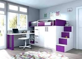 deco chambre de fille chambre mezzanine fille lit mezzanine 1 bureau mezzanine en idee