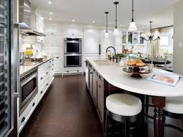 White Island Kitchen White Kitchen Islands Pictures Ideas Tips From Hgtv Hgtv