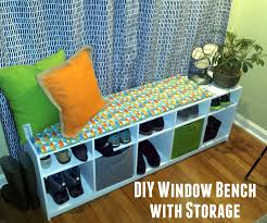 Window Bench With Storage Plywood Window Seat With Cube Storage 8 Steps With Pictures