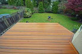 how to sand cedar decking delightful outdoor ideas