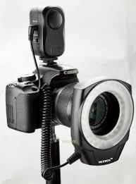 Neewer 48 Led Ring Light For Macro Canon Nikon Sigma Tamron Lens For